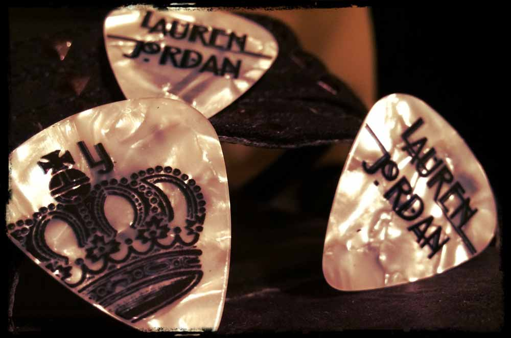 Lauren Jordan Guitar Pick