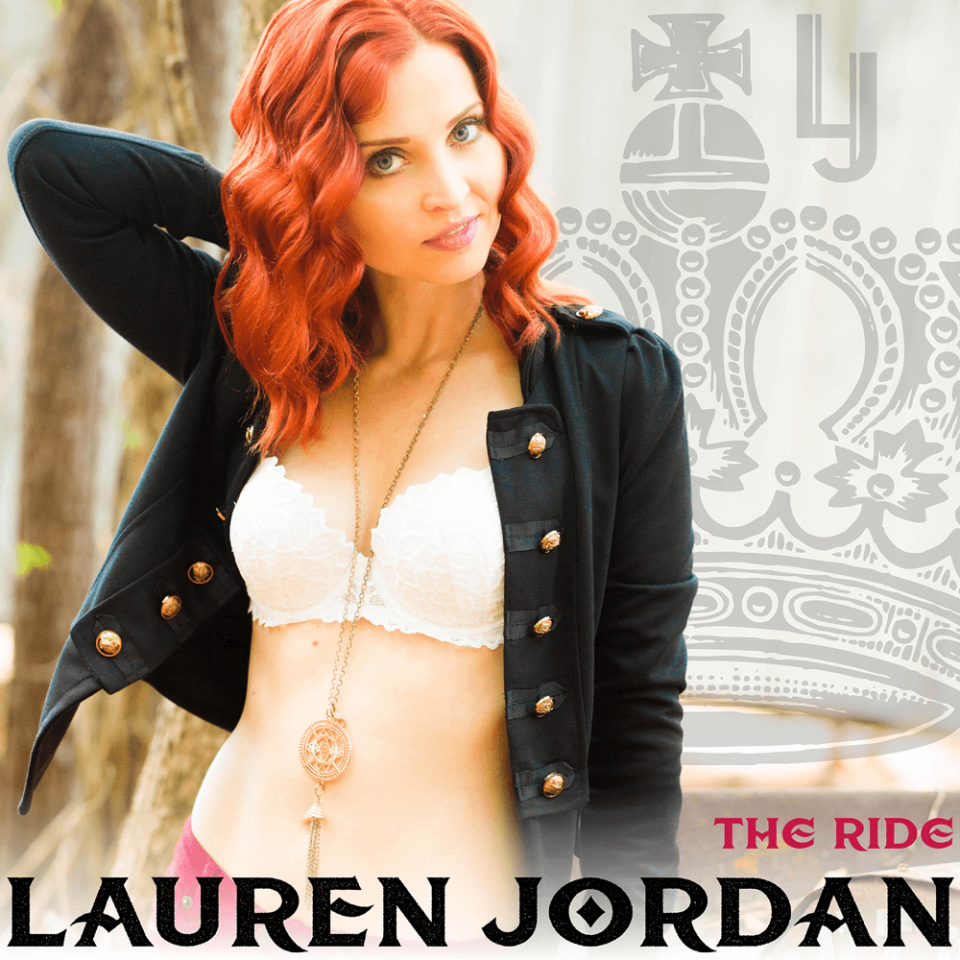 Lauren Jordan - The Ride EP Cover Art